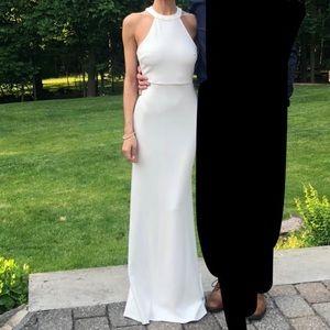 Lulu's White Maxi Dress